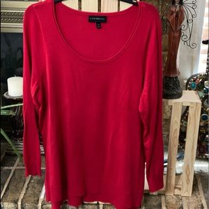 Lane Bryant Red Sweater
